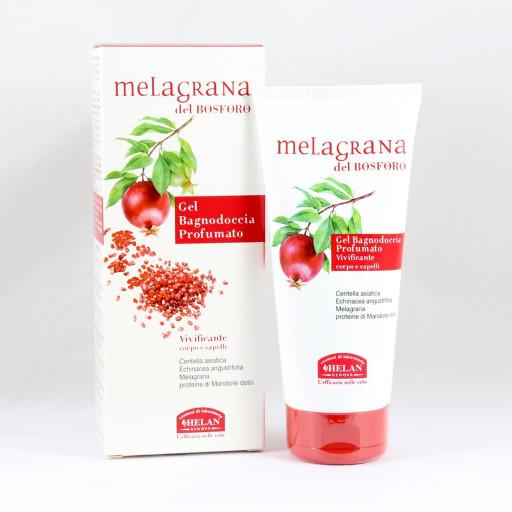 HELAN - Gel Bagnodoccia Vivificante corpo e capelli - Linea Melagrana del Bosforo - 200ml