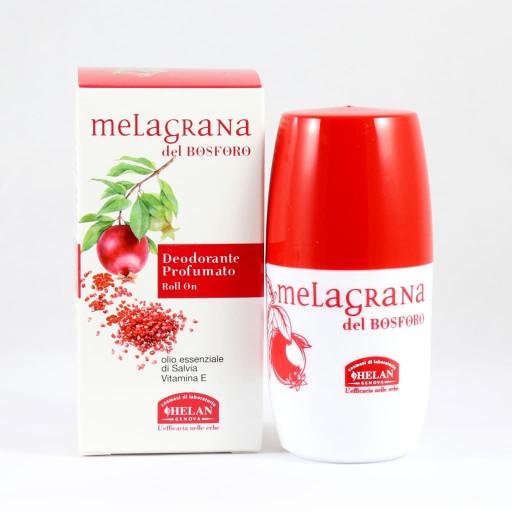 HELAN - Deodorante Profumato roll-on - Linea Melagrana del Bosforo - 50ml