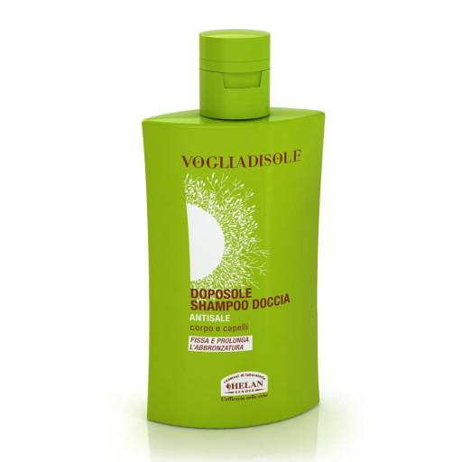 HELAN - Doposole shampoo doccia antisale - Linea Voglia di Sole - 200ml