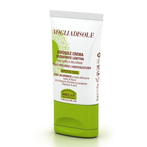 HELAN - Doposole crema reidratante lenitiva viso, collo e décolleté - Linea Voglia di Sole - 50ml