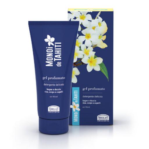 HELAN - Gel profumato detergente delicato corpo e capelli - Linea Monoi de Tahiti - 200ml