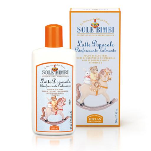 HELAN - Latte doposole rinfrescante - Linea Sole Bimbi - 200ml