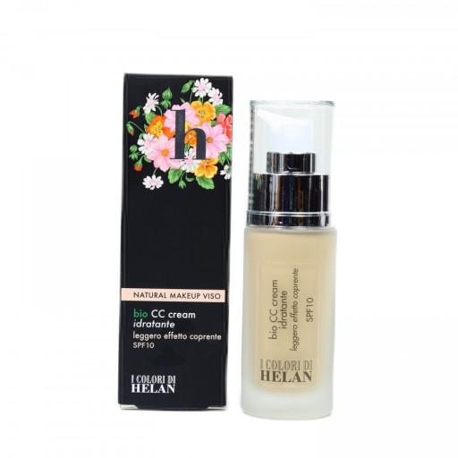 CC Cream idratante bio spf 15 Riso - Linea I Colori di Helan - 30ml