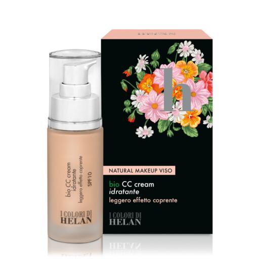 HELAN - CC Cream idratante bio sfp 15 Soja - Linea I Colori di Helan - 30ml