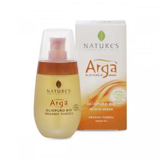 NATURE'S - Olio puro bio viso, corpo e capelli - Linea Argà - 50ml