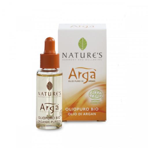 NATURE'S - Olio puro bio viso, corpo e capelli - Linea Argà - 10ml