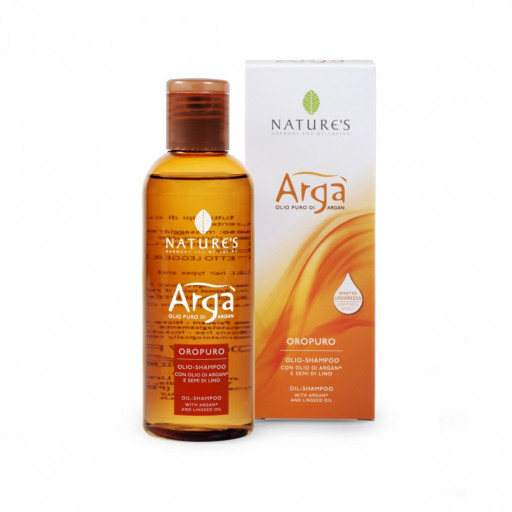 NATURE'S - Oropuro olio capelli - Linea Argà - 100ml