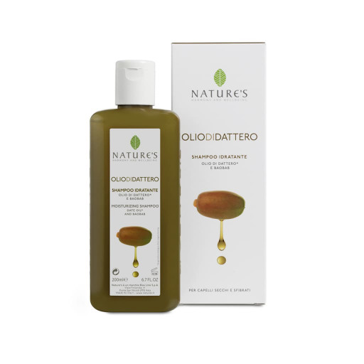 NATURE'S - Shampoo Idratante - Linea Olio di Dattero - 200ml