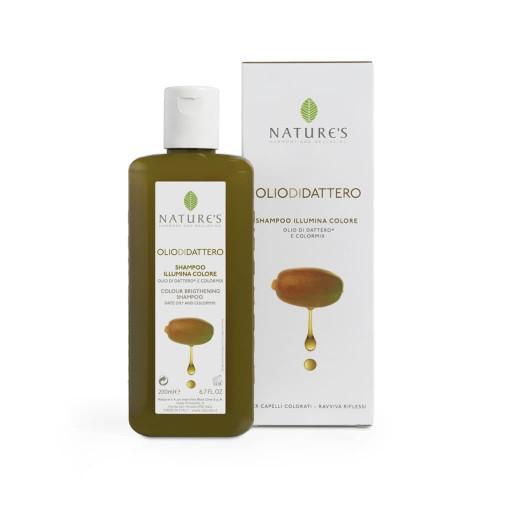 Shampoo Illuminante Colore - Linea Olio di Dattero - 200ml