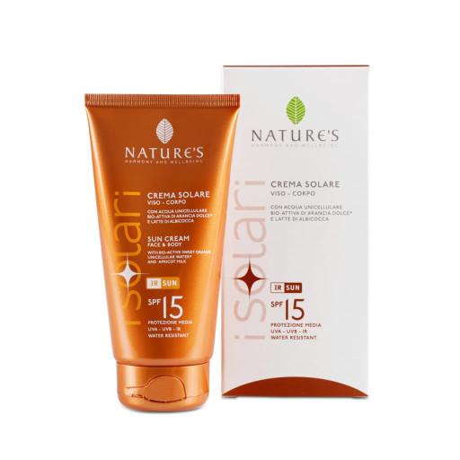 NATURE'S - Crema Solare viso-corpo spf 15 - Linea iSolari - 150ml