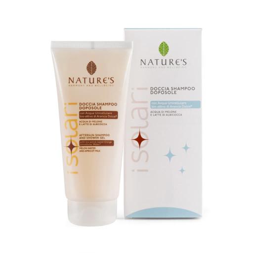 NATURE'S - Doccia shampoo doposole - Linea iSolari - 200ml