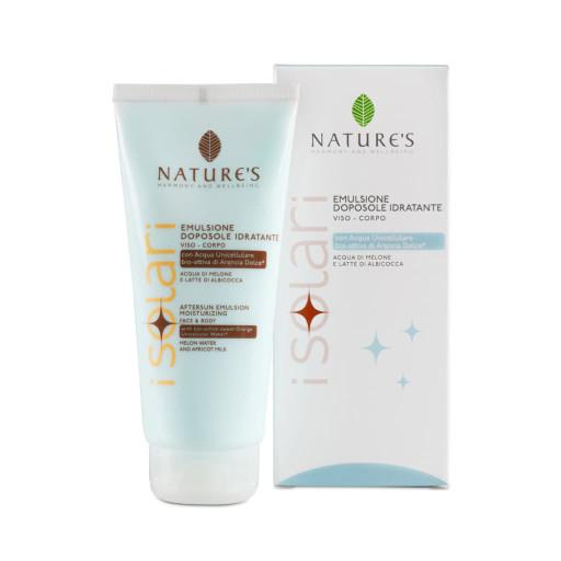 NATURE'S - Emulsione doposole viso-corpo - Linea iSolari - 200ml
