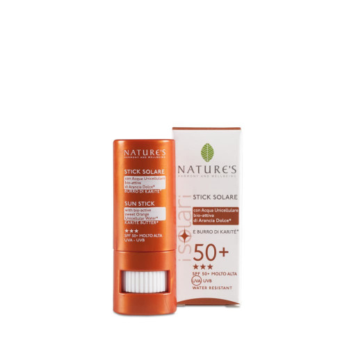 NATURE'S - Stick Solare spf 50+ - Linea iSolari - 8ml
