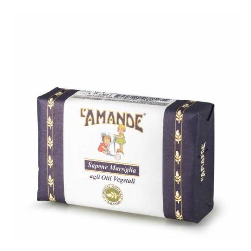 L'AMANDE - Sapone Marsiglia agli olii vegetali - Linea L'Amande Marseille - 100g