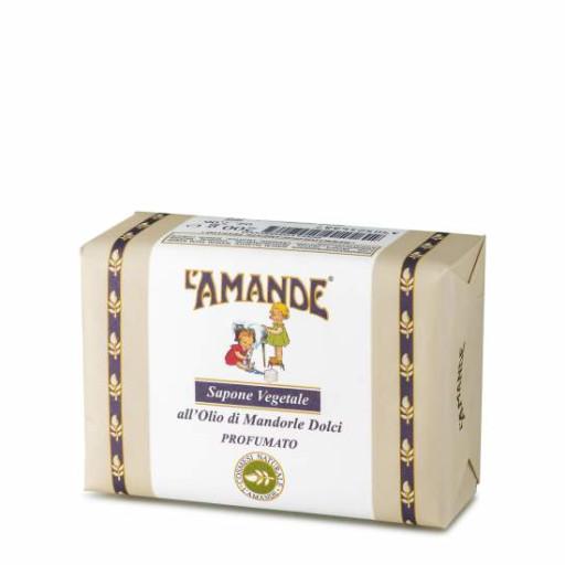 L'AMANDE - Sapone Vegetale all'Olio di Mandorle dolci - Linea L'Amande Marseille - 200g