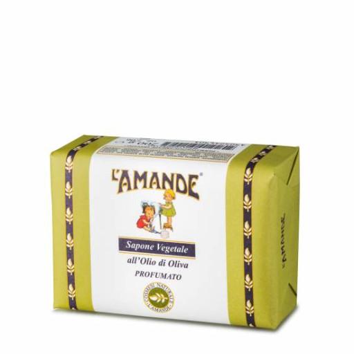 L'AMANDE - Sapone Vegetale all'Olio di Oliva - Linea L'Amande Marseille - 200g