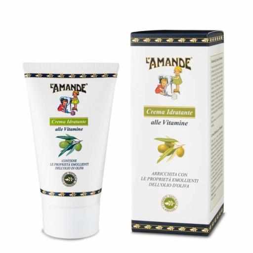 L'AMANDE - Crema Idratante alle Vitamine - Linea L'Amande Marseille - 150ml