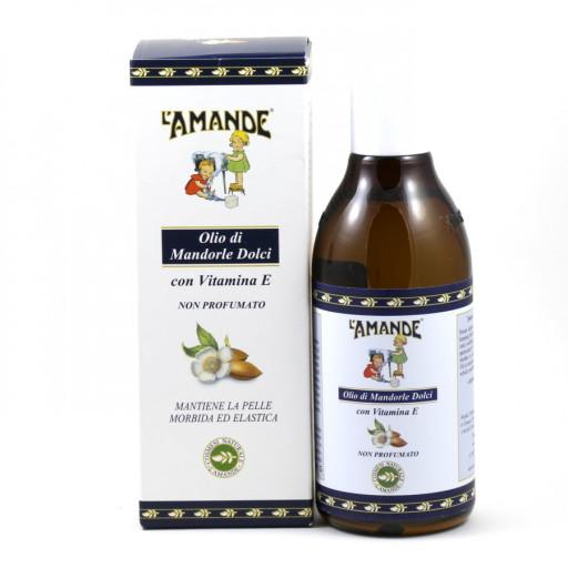 L'AMANDE - Olio di mandorle dolci non profumato - Linea L'Amande Marseille - 250ml