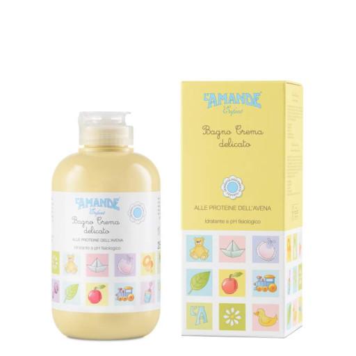 L'AMANDE - Bagno crema delicato - Linea Enfant - 250ml