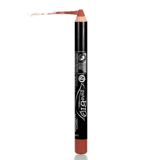 PUROBIO COSMETICS - Matitone rossetto all-over n.17 Mattone