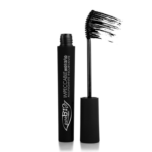 PUROBIO COSMETICS - Impeccabile Mascara allungante incurvante n.01 Nero - 6ml
