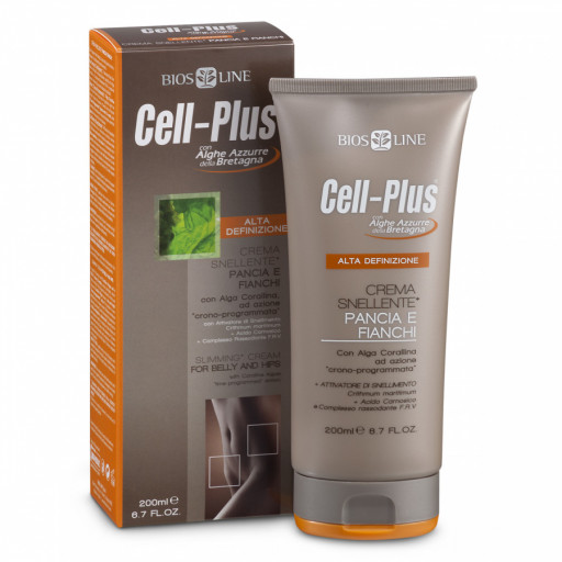 Crema Snellent pacia e fianchi - Linea Cell-Plus - 200ml