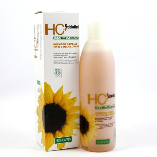 Shampoo Naturale capelli tinti e decolorati - Linea Homocrin HC+ Probiotici - 250ml