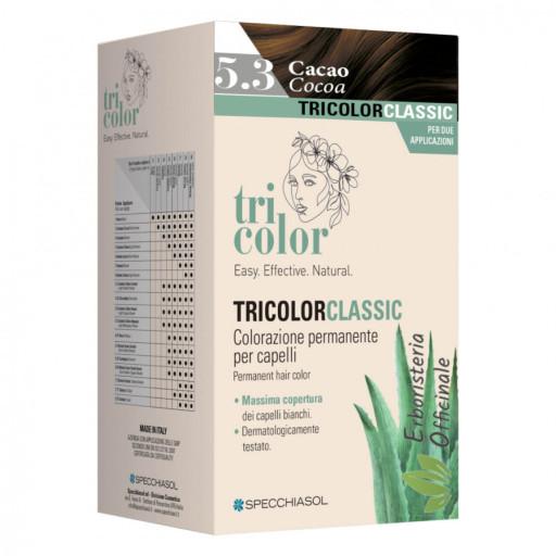 Tricolor tinta per capelli n.5/3 Castano chiaro dorato - Linea Homocrin - 2 trattamenti