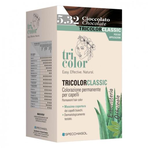 Tricolor tinta per capelli Specchiasol n.5/32 Cioccolato - Linea Homocrin - 2 trattamenti
