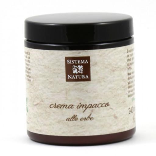 SISTEMA NATURA - Crema impacco alle Erbe - 240ml