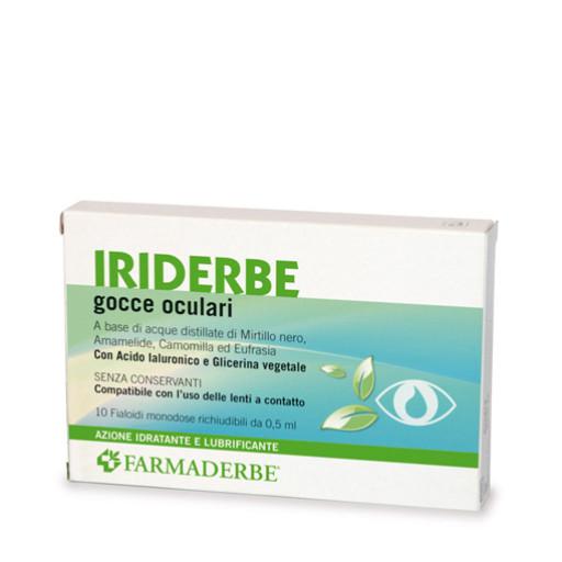 FARMADERBE - Iriderbe Gocce Oculari - 10 fialette monodose