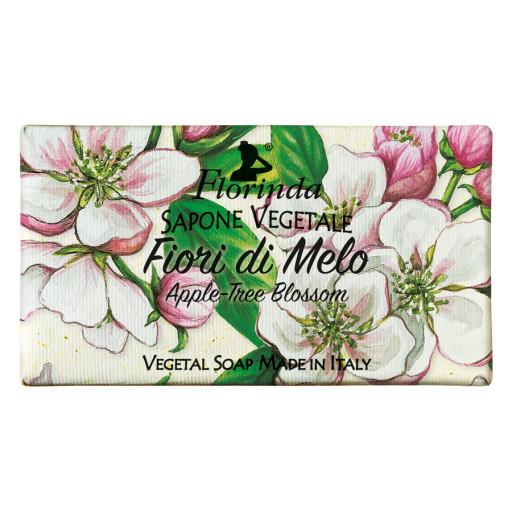 FLORINDA - Sapone vegetale ai Fiori di Melo - 100g