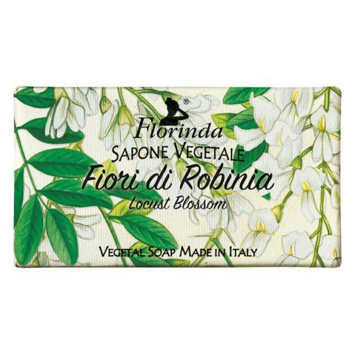FLORINDA - Sapone vegetale ai Fiori di Robinia - 100g