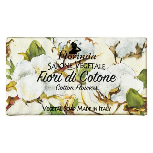 FLORINDA - Sapone vegetale ai Fiori di Cotone - 100g