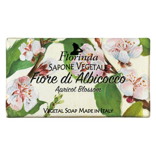 FLORINDA - Sapone vegetale al Fiore di Albicocco - 100g
