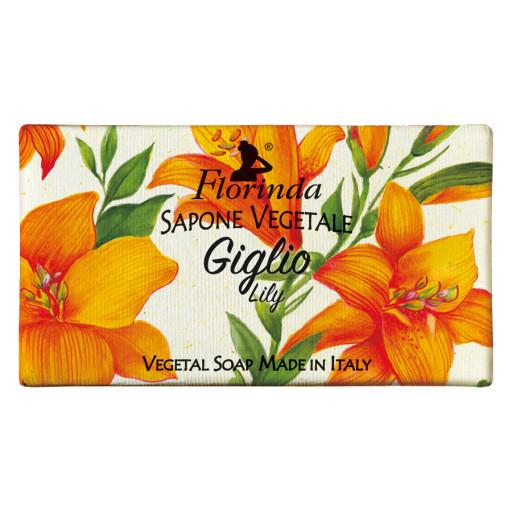 FLORINDA - Sapone vegetale al Giglio - 100g