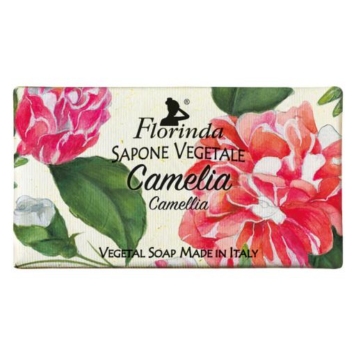 FLORINDA - Sapone vegetale alla Camelia - 100g