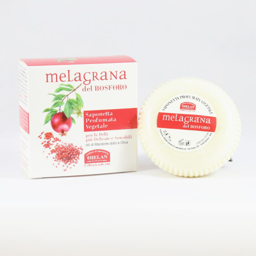 Saponetta profumata vegetale - Linea Melagrana del Bosforo - 85g