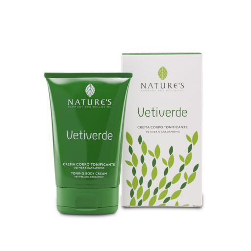 NATURE'S - Crema Corpo tonificante - Linea Vetiverde - 100ml