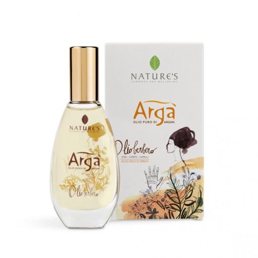NATURE'S - Olio Berbero viso corpo capelli - Linea Argà - 50ml