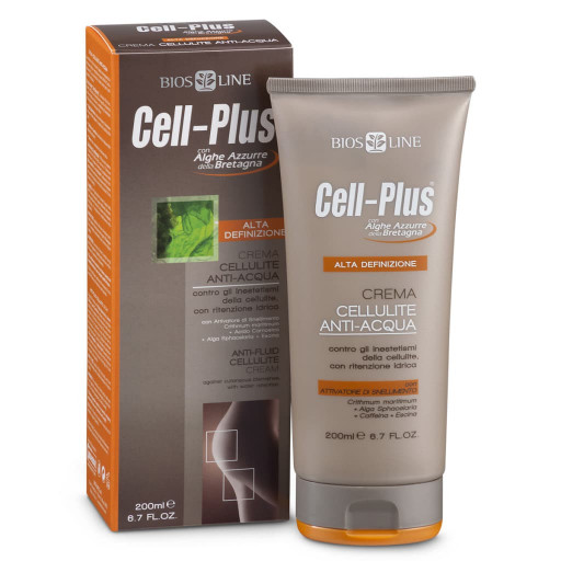 BIOS LINE  - Crema Cellulite Anti-Acqua - Linea Cell-Plus - 200ml