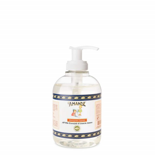 L'AMANDE - Detergente liquido mani all'olio essenziale di arancia amara - 300ml