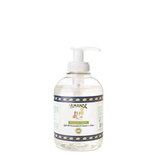 L'AMANDE - Detergente Liquido Mani all'olio essenziale di Limone e Timo - 300ml