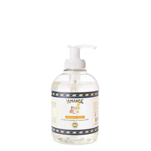 L' AMANDE - Detergente liquido mani all'olio essenziale di arancia dolce - 300ml