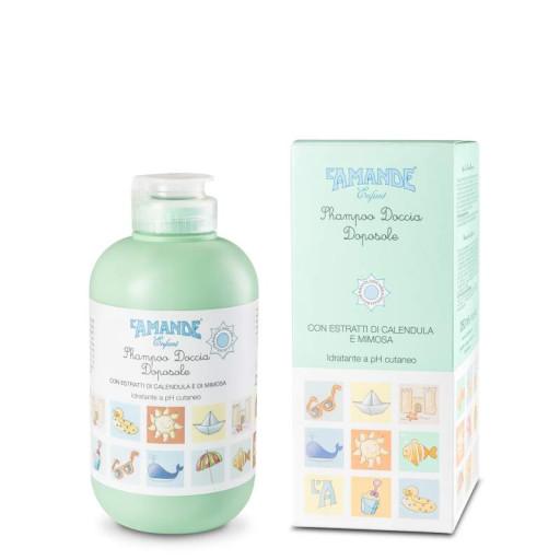 L'AMANDE - Shampoo doccia doposole - Linea Enfant Soleil - 250ml