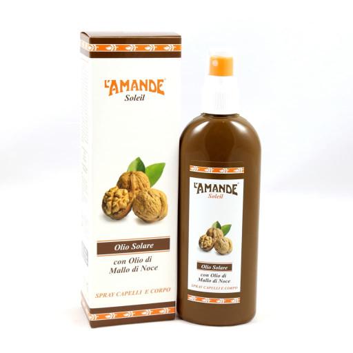 L'AMANDE - Olio solare spray capelli e corpo - Linea Soleil - 150ml