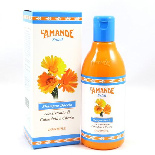 L'AMANDE - Shampoo doccia doposole - Linea Soleil - 250ml