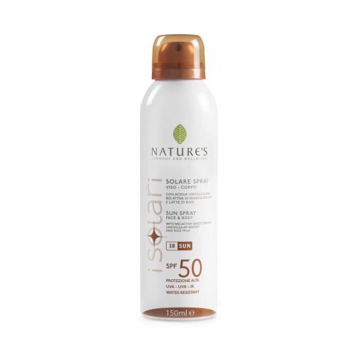 NATURE'S - Solare spray viso e corpo spf 50 - Linea iSolari - 150ml