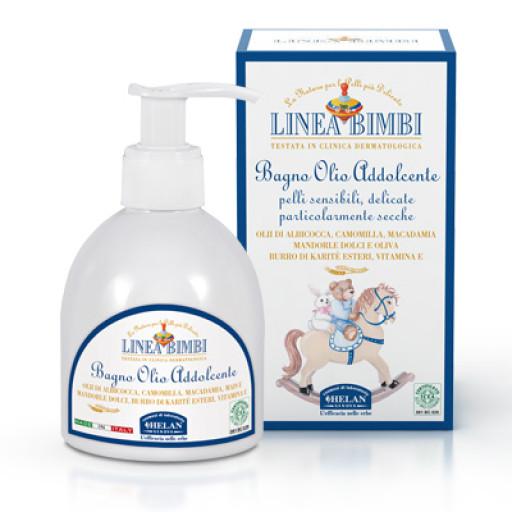 HELAN - Bagno olio addolcente - Linea Bimbi - 200ml