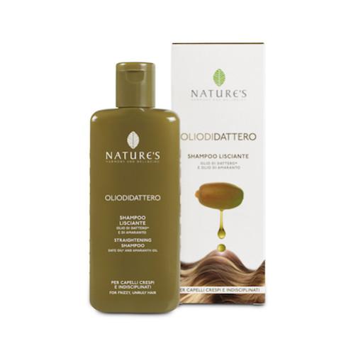 NATURE'S - Shampoo Lisciante - Linea Olio di Dattero - 200ml